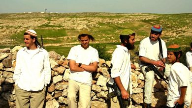Photo of Settlers storm archaeological site near Nablus