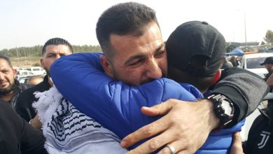 Photo of Palestinian detainee released after 15 years