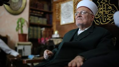 Photo of Sheikh Ikrimah Sabri arrested by Israel