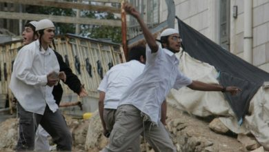 Photo of Palestinian Mayor assaulted by settlers